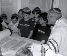 Simchat Torah 2007.bw