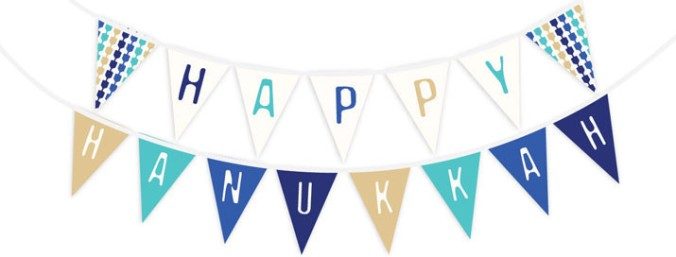 hanukkah-decoration-ideas-blue-banner